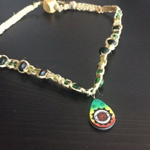 Jewelry - beautiful handmade hemp necklace